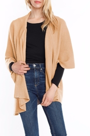 Look by M Shimmer Shawl Vest - Front cropped