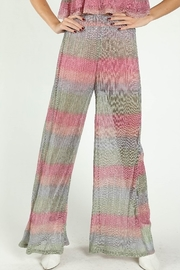 Wild Honey Shimmer Striped Pants - Product Mini Image