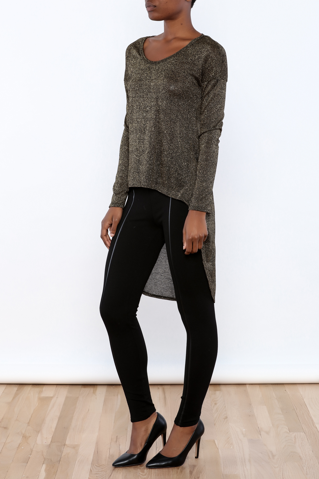 ING Shimmer Sweater - Front Full Image