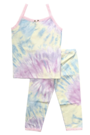 Esme Shimmer Tie Dye PJ Set - Product Mini Image