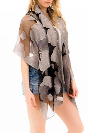Nadya's Closet Shimmered Roses Scarf - Other