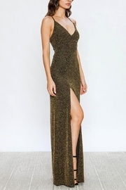 Jealous Tomato Shimmering Slit Dress - Product Mini Image