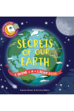 Usborne Shine-A-Light-Book: Secrets Of Our Earth - Product List Image