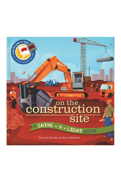 Usborne Shine A Light: On The Construction Site - Alternate List Image