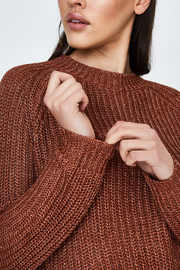 MinkPink Shine On Lurex Sweater - Side cropped