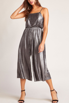 Shoptiques Product: Shine On Metallic Jumpsuit
