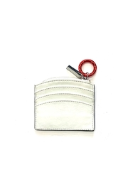 Cala Vela Shiny Patent Leather Sunrise Zip Card Holder - Product Mini Image