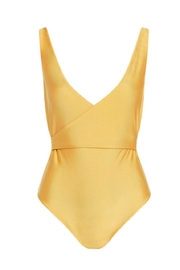 Cami and Jax Shiny Wrapping Swimsuit - Product Mini Image