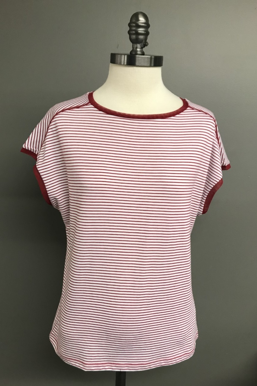FDJ French Dressing Ship's Ahoy Top - Front Cropped Image