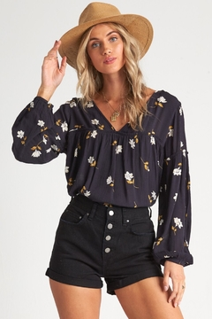 Billabong Shir Genius Floral Woven Top - Product List Image