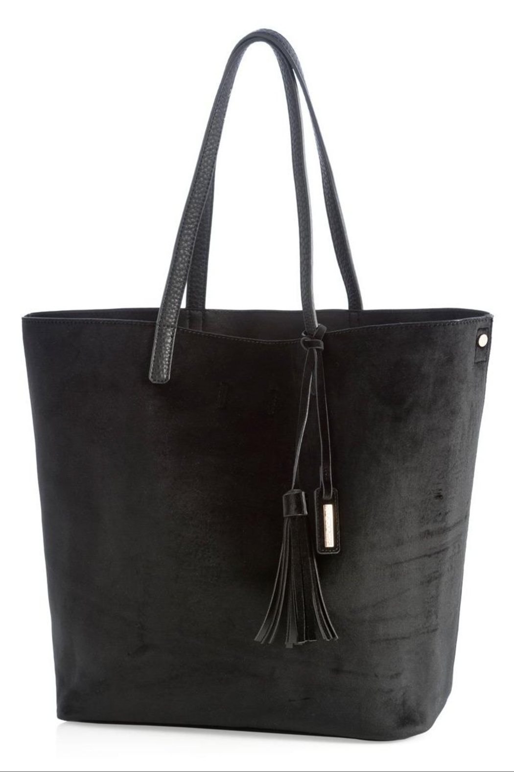 Shiraleah Alison Velvet Tote - Front Cropped Image
