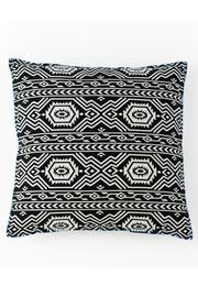 Shiraleah Aztec Embroidered Pillow - Product Mini Image