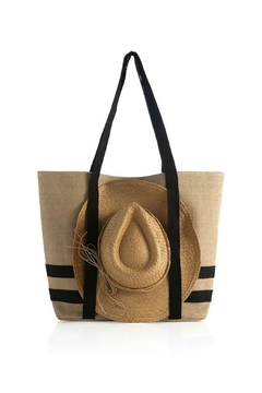 Shiraleah Beach Tote With Hat - Alternate List Image