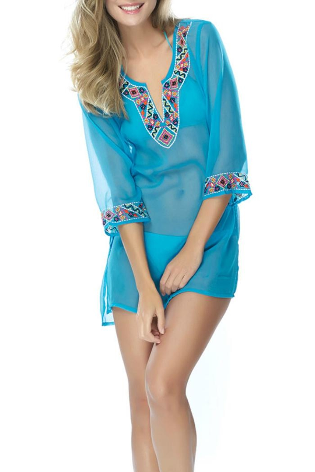 Shiraleah Camila Tunic Cover Up - Front Cropped Image