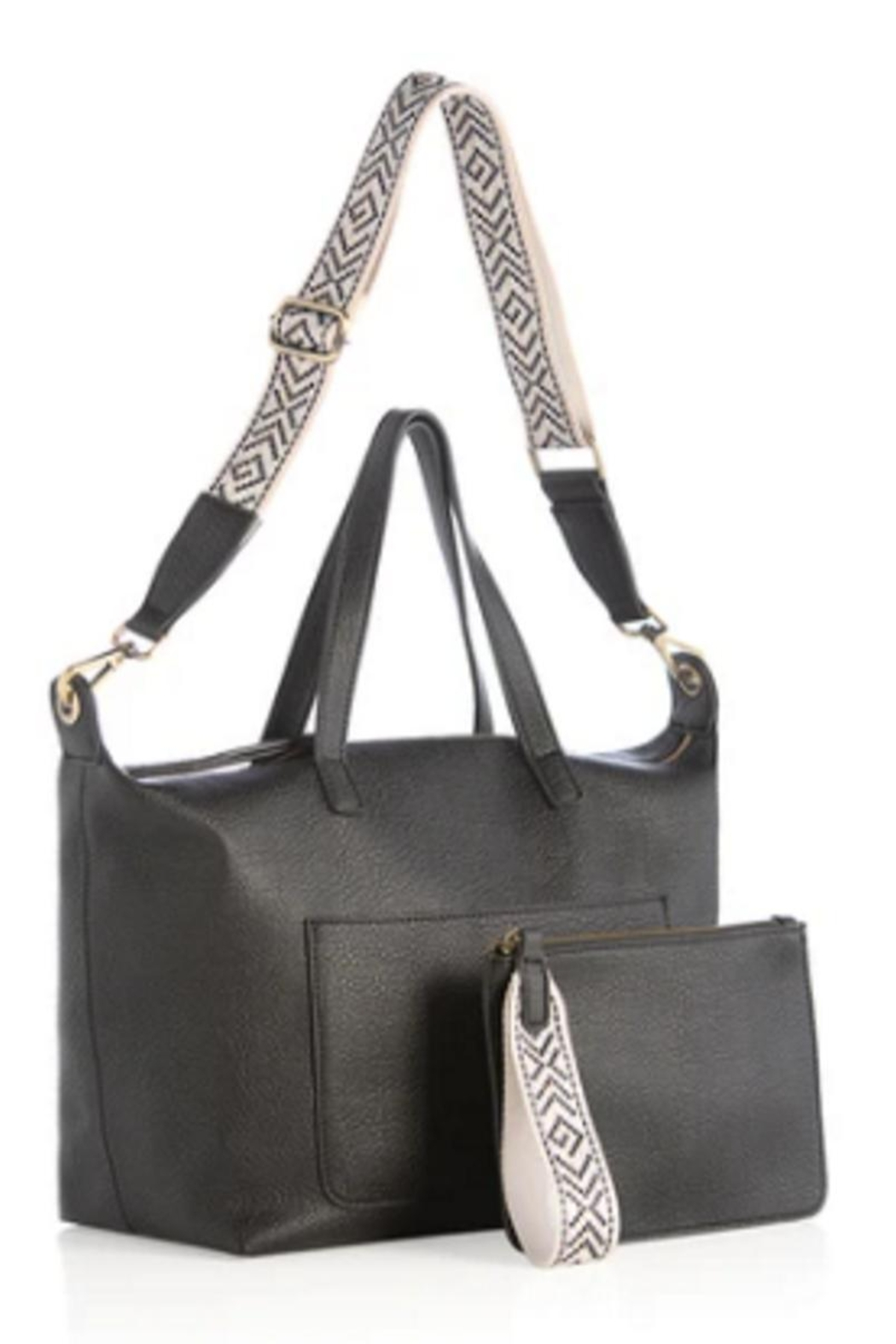 Shiraleah Dani Satchel With Zip Pouch - Front Cropped Image