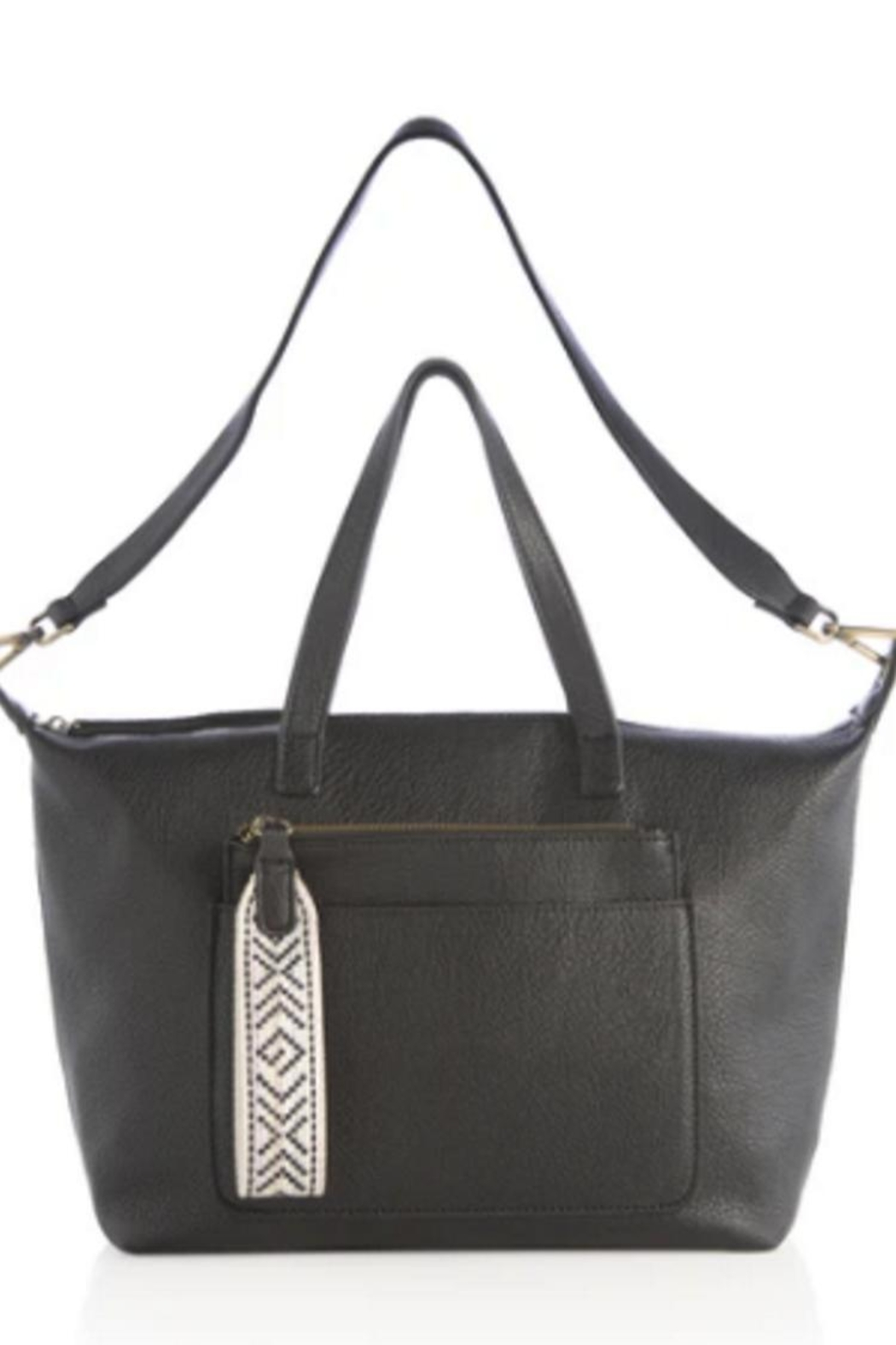 Shiraleah Dani Satchel With Zip Pouch - Front Full Image