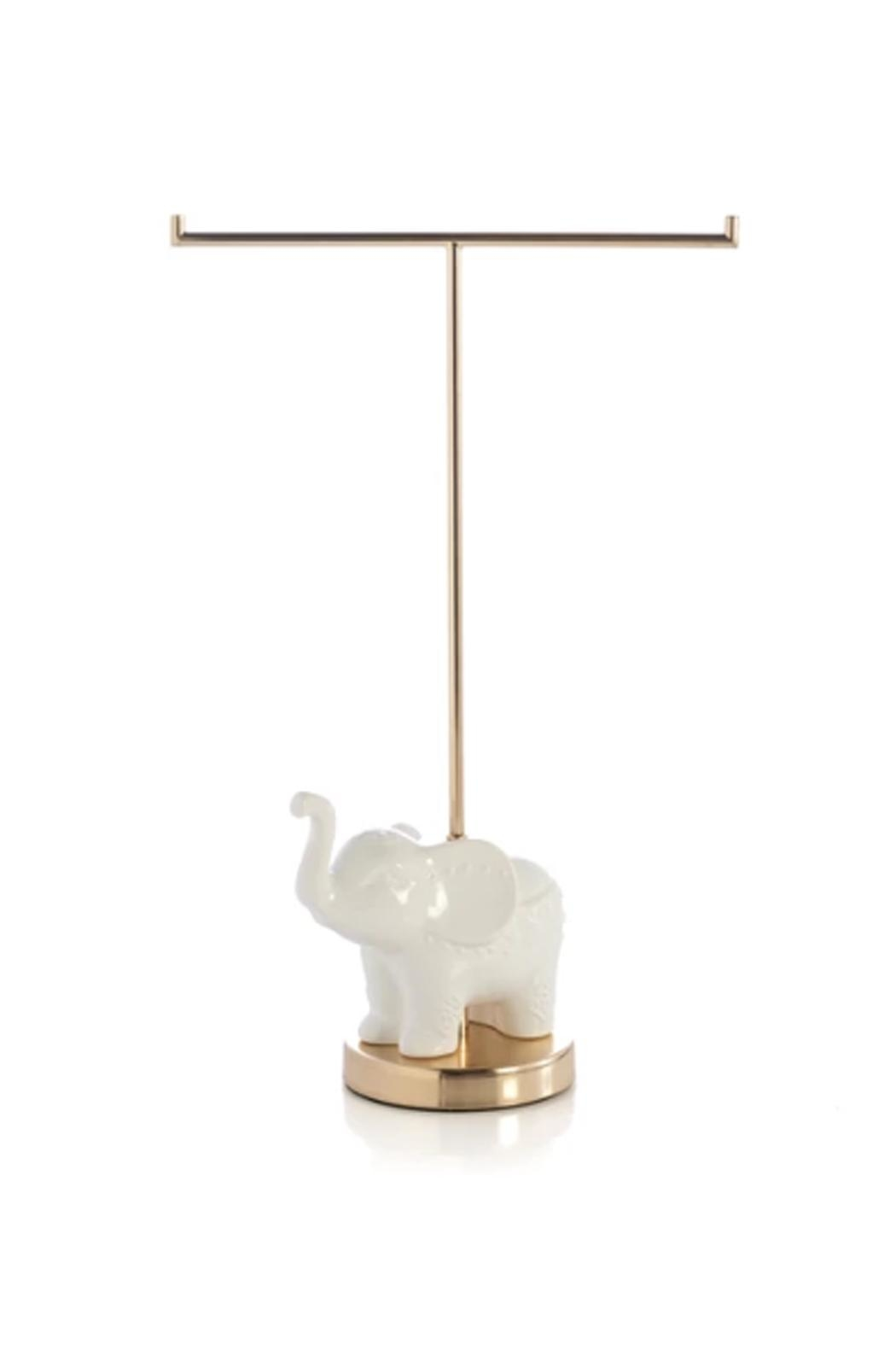 Shiraleah Elephant Jewelry Holder - Front Cropped Image