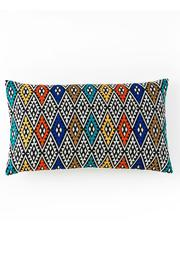 Shiraleah Embroidered Rectangle Pillow - Product Mini Image