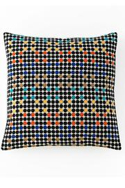 Shiraleah Embroidered Square Pillow - Product Mini Image