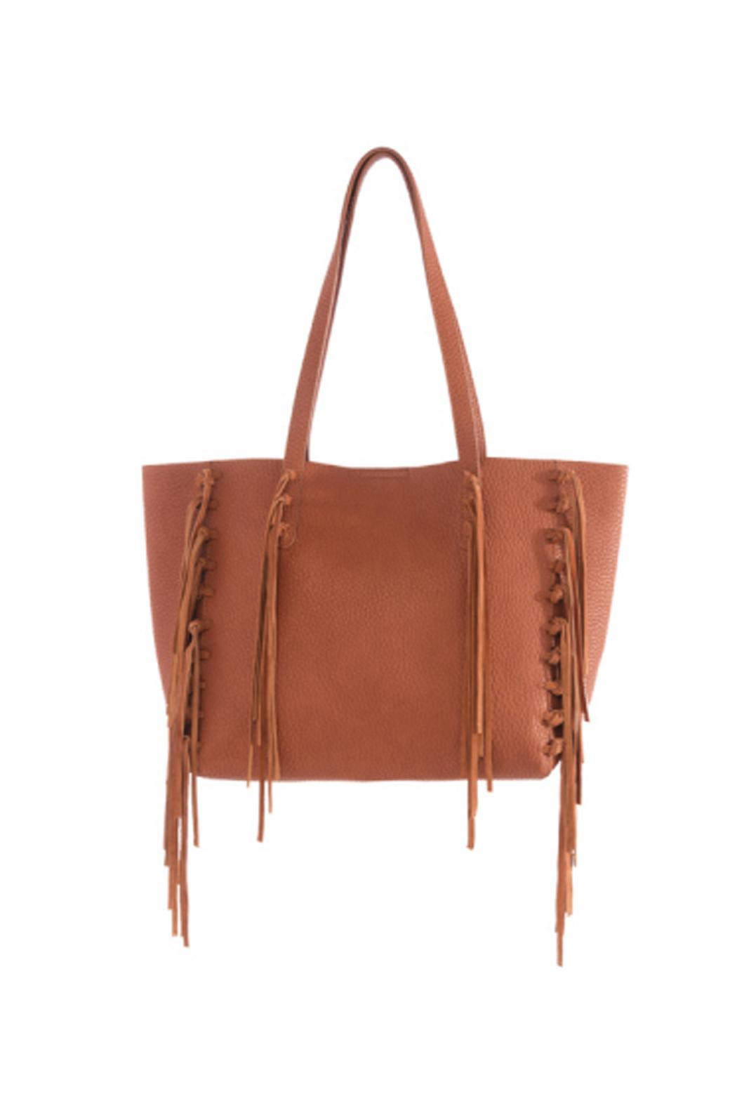 Shiraleah Fringe Tote Bag - Main Image