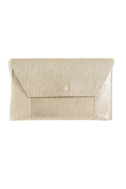 Shiraleah Gold Fiona Clutch - Product Mini Image