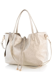 Shiraleah Gold Stella Tote - Front full body