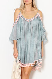 Shiraleah Heloise Tassel Cover-Up - Front cropped