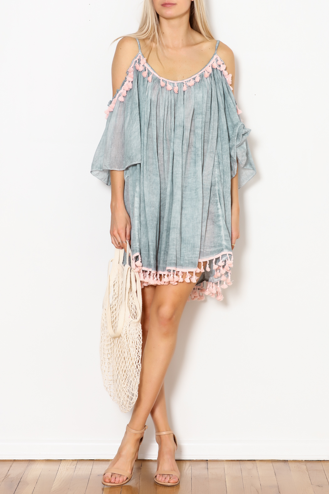 Shiraleah Heloise Tassel Cover-Up - Side Cropped Image