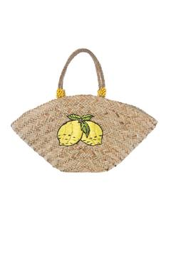 Shiraleah Lemon Tote - Alternate List Image