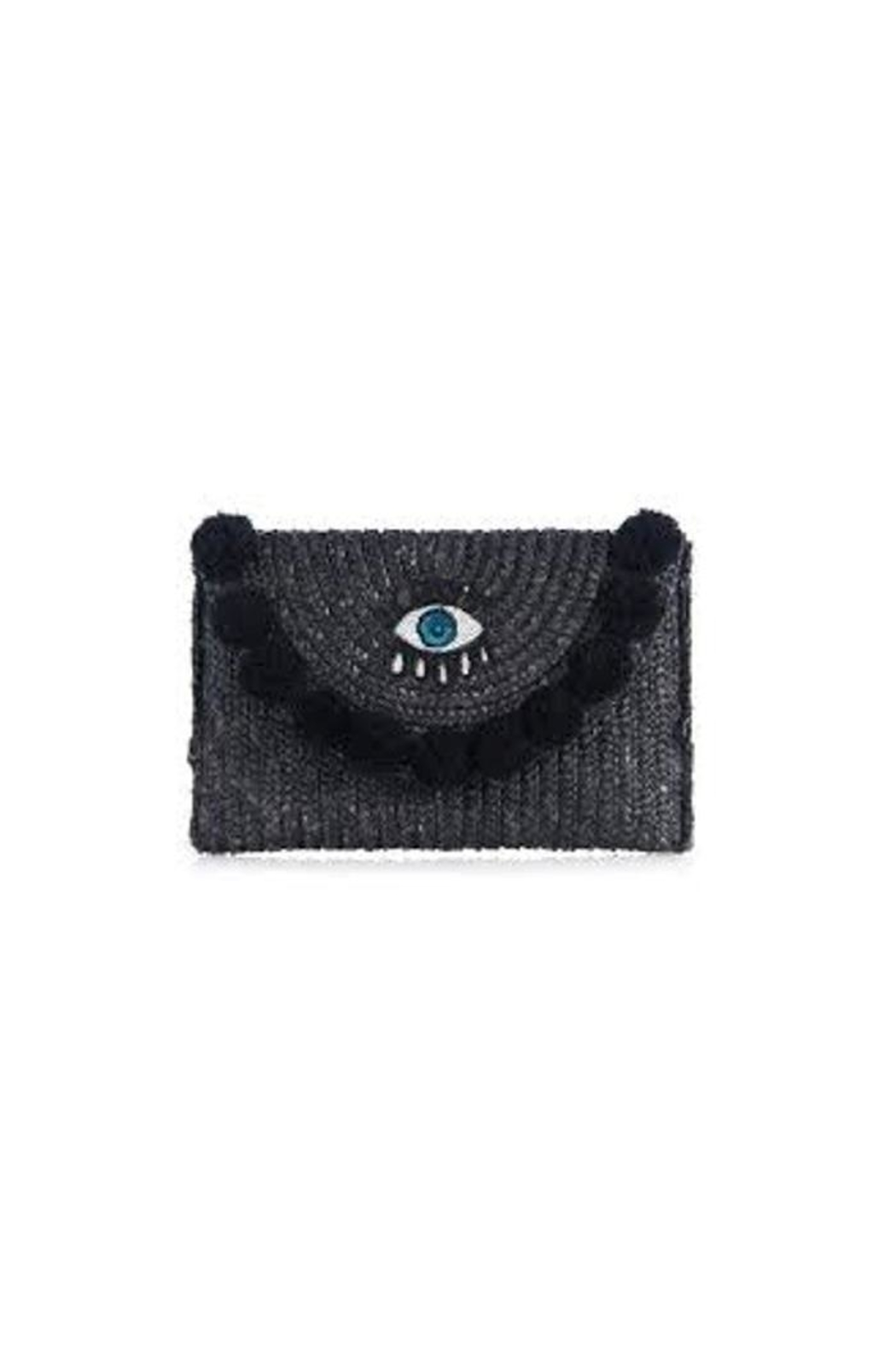 Shiraleah Lucky Eye Clutch - Front Cropped Image