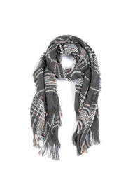 Shiraleah Mara Plaid Scarf - Product Mini Image