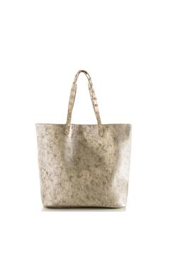 Shiraleah Metallic Tote Bag - Product List Image