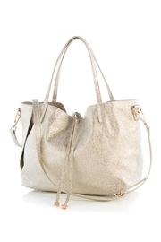 Shiraleah Metallic Vegan-Leather Tote - Product Mini Image