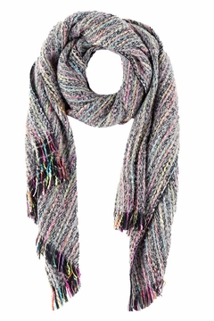 Shiraleah Multicolored Scarf - Alternate List Image