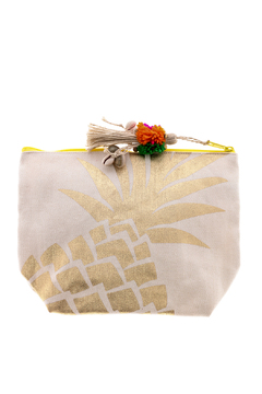 Shoptiques Product: Pineapple Cosmetic Pouch
