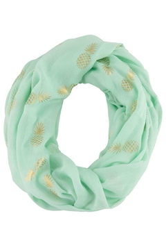 Shoptiques Product: Pineapple Infinity Scarf