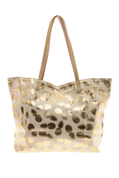 Shiraleah Pineapple Tote - Product List Image