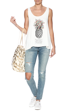 Shiraleah Pineapple Tote - Alternate List Image