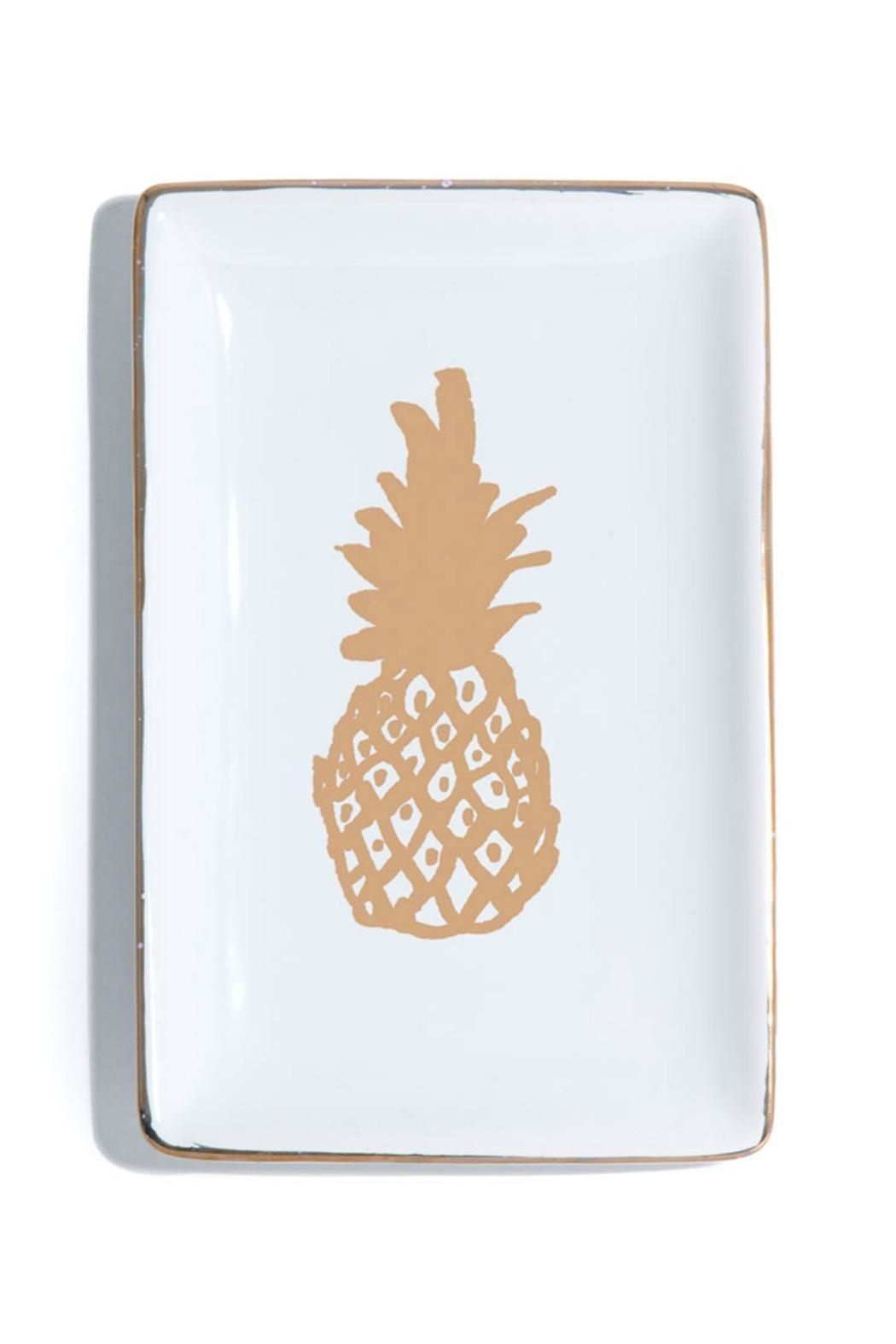 Shiraleah Pineapple Trinket Dish - Front Cropped Image