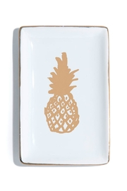 Shiraleah Pineapple Trinket Dish - Front cropped