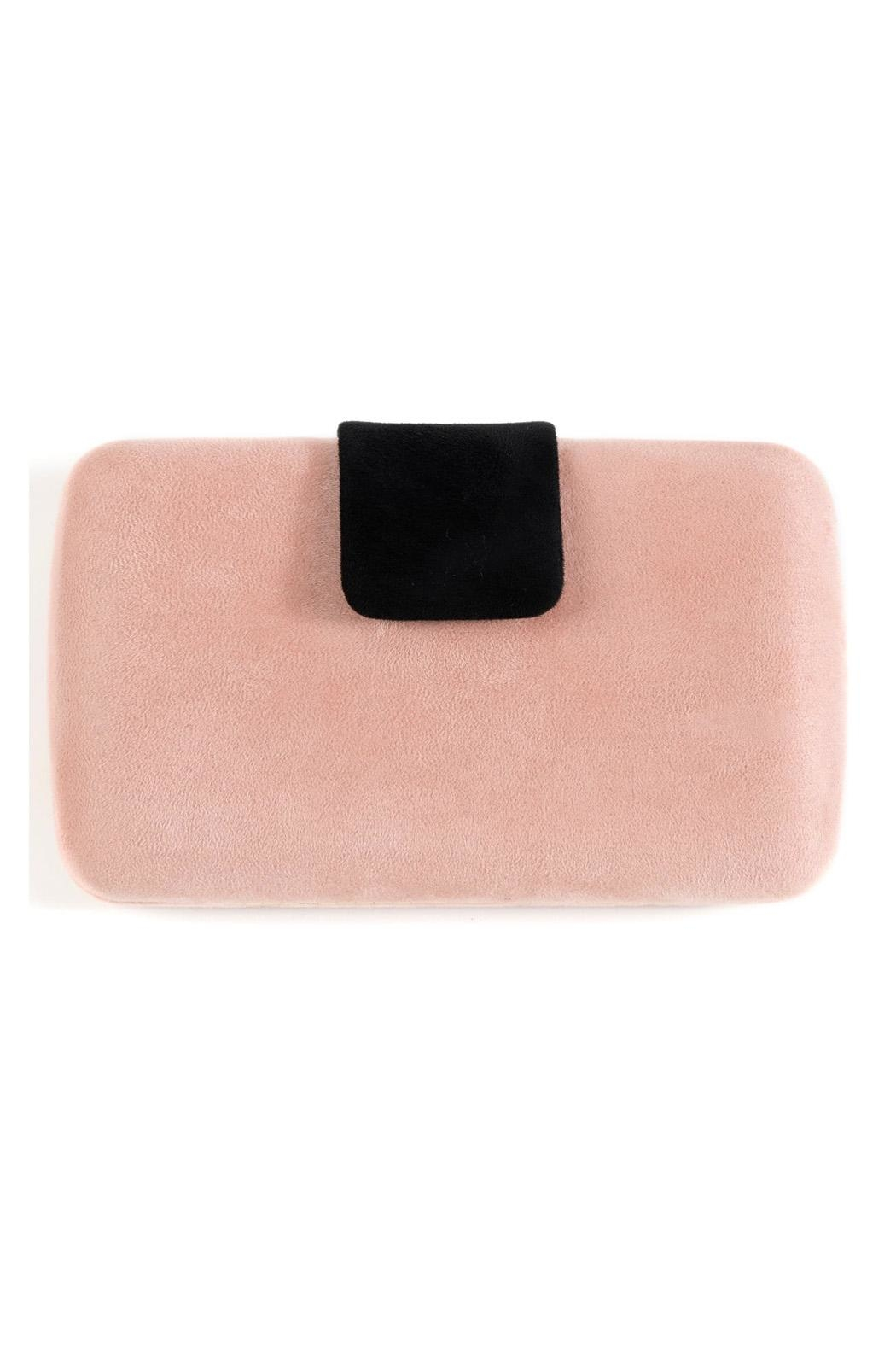 Shiraleah Pink Box Clutch - Front Full Image