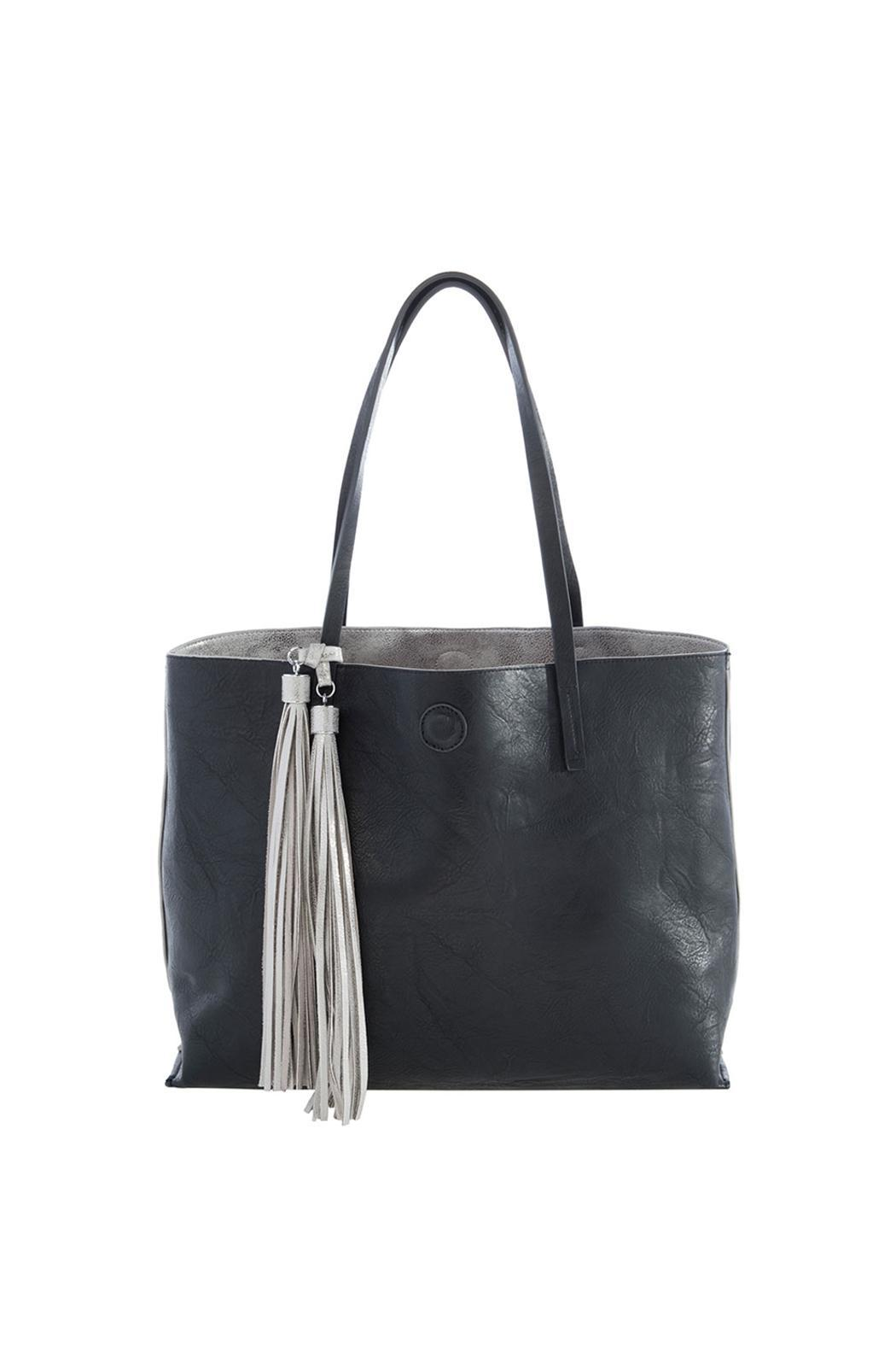 Shiraleah Reversible Tote Bag - Front Full Image