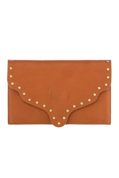 Shiraleah Scalloped Leather Clutch - Alternate List Image