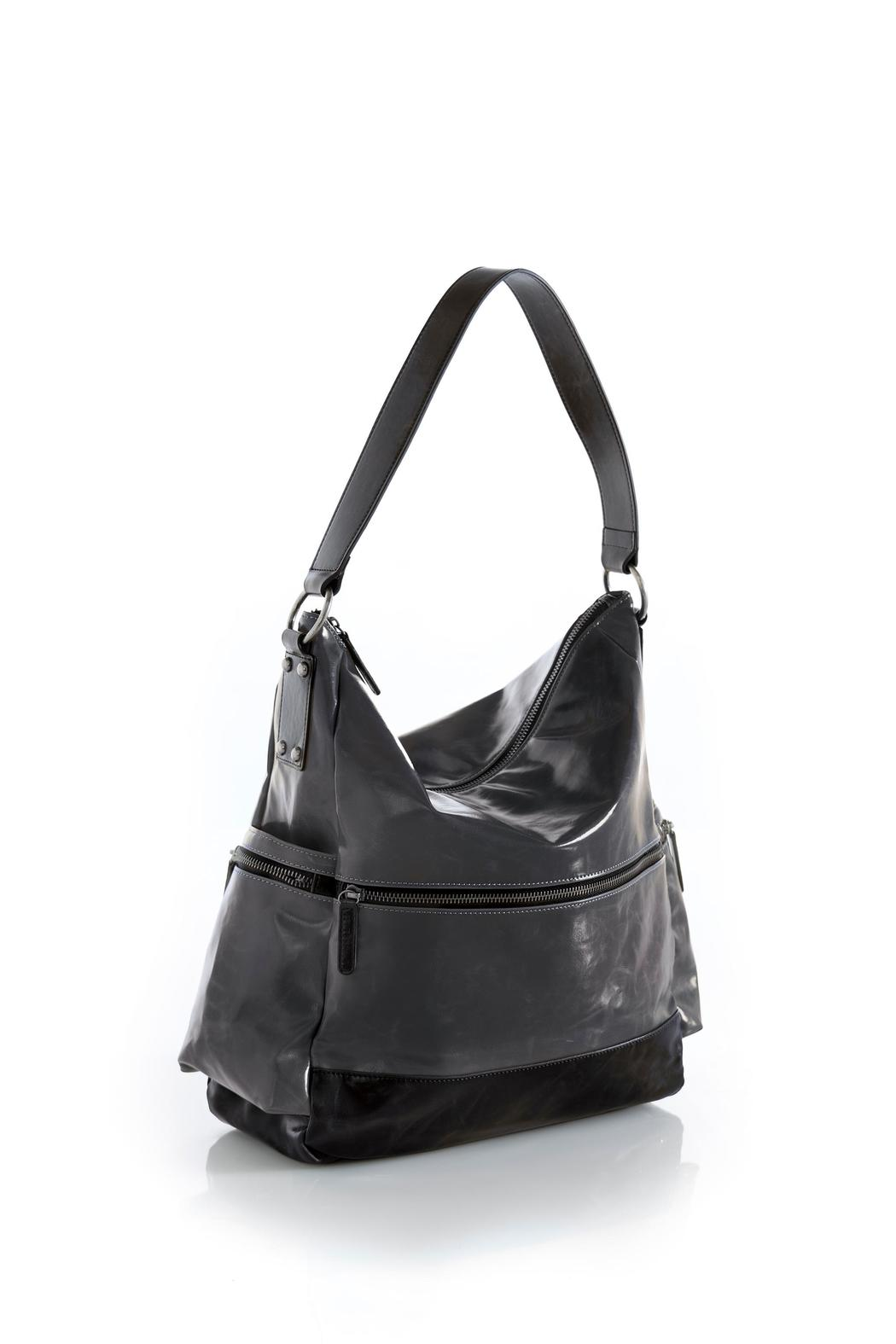 Shiraleah Vegan Leather Hobo Tote - Front Cropped Image