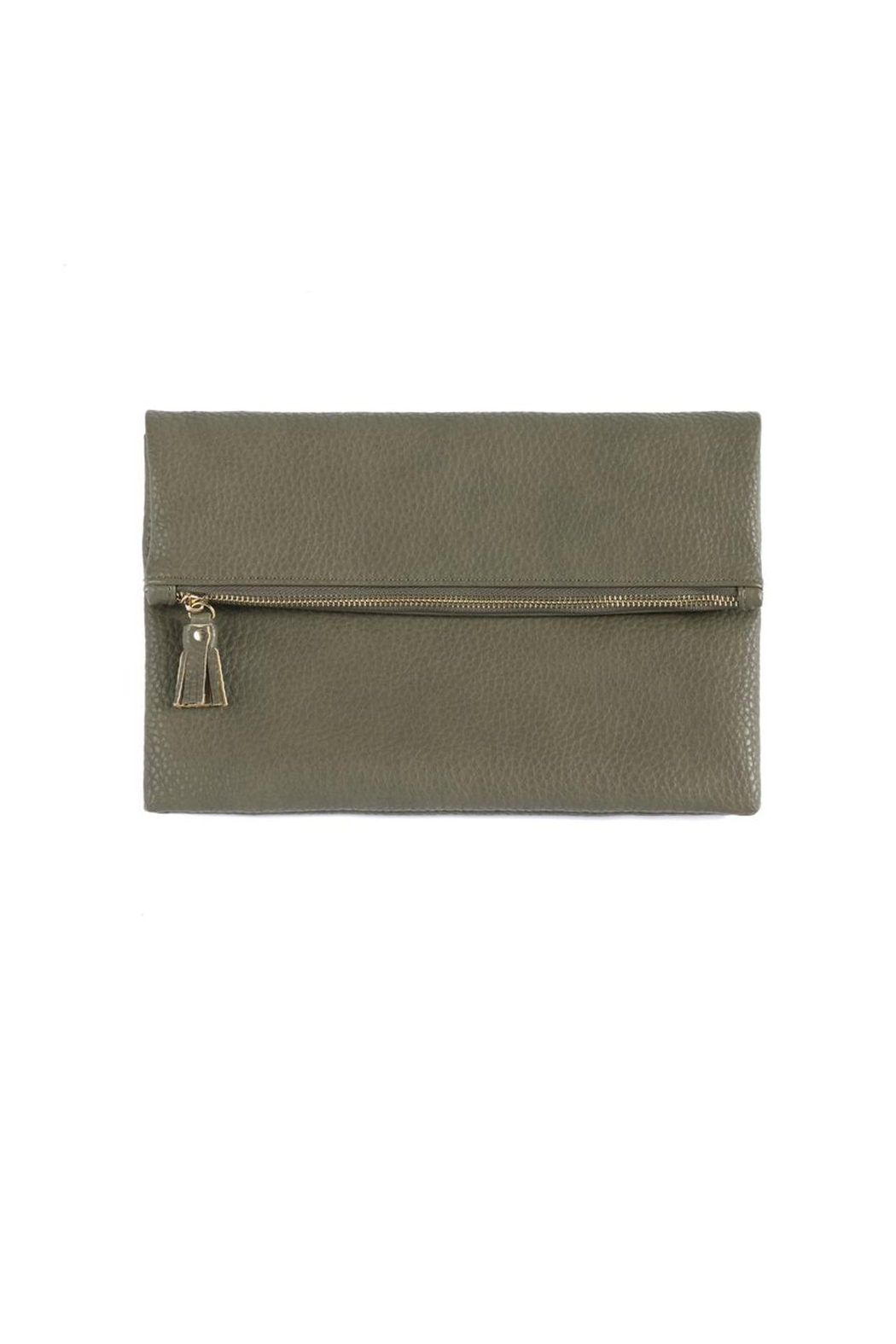Shiraleah Verena Fold Clutch - Front Cropped Image