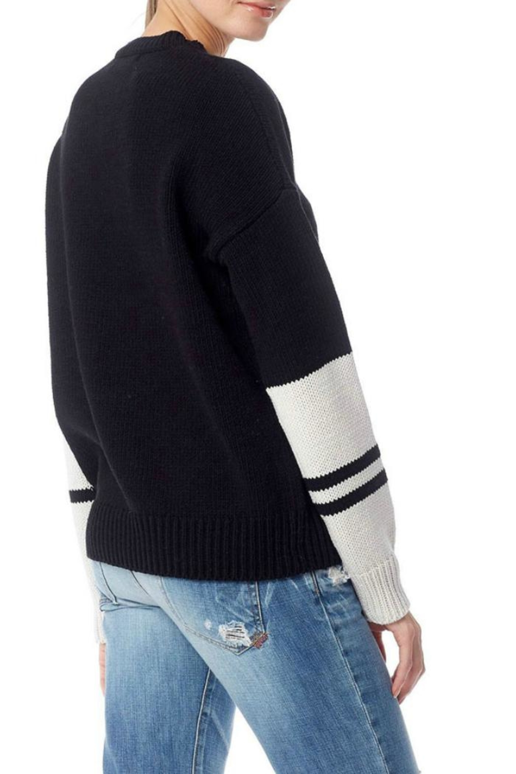 360 Cashmere Shirley Sweater - Front Full Image