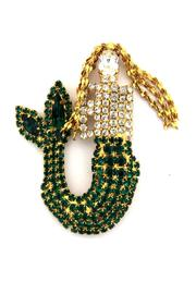 Shirley Whirley's Mermaid Pin Gold - Product Mini Image