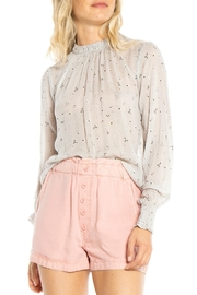 Bella Dahl Shirred Floral Blouse - Product Mini Image
