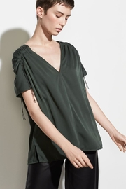Vince Shirred Sleeve Blouse - Product Mini Image