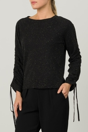 Margaret O'Leary Shirred Sleeve Pullover - Product Mini Image